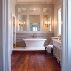 Traditional Bathroom by EMB Interiors,llc