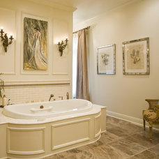 Traditional Bathroom by EMB Interiors,llc