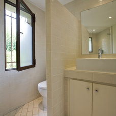 Mediterranean Bathroom by Studio Santalla, Inc