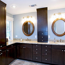 Traditional Bathroom by UB Kitchens