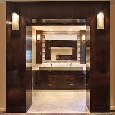 Contemporary Bathroom by frank pitman designs