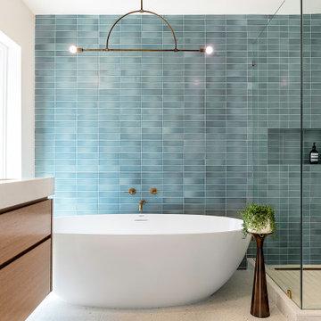 Master Bathroom Freestanding Tub