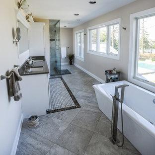 Master Bathroom- Freestanding Tub & Steam Shower