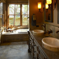 Traditional Bathroom by Gabberts Design Studio