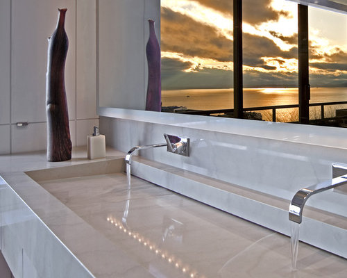 Wall Mounted Bathroom Faucet Ideas, Pictures, Remodel and Decor