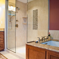 Traditional Bathroom by DreamMaker Bath & Kitchen of Anne Arundel County