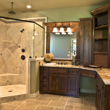 Traditional Bathroom by Green Homes