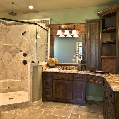 Traditional Home Corner Vanity Design Ideaspicturesremodel Pplump
