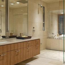 Contemporary Bathroom by Gregory Carmichael