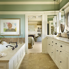 Traditional Bathroom by Gregory Carmichael