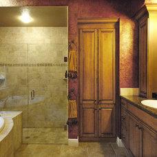 Mediterranean Bathroom by Gritton & Associates Architects