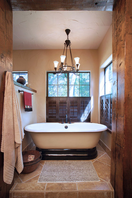 eclectic bathroom by Gritton & Associates Architects
