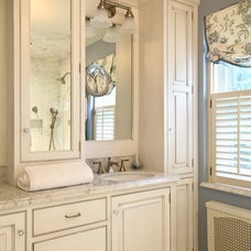 Traditional Bathroom by LAD Interior Design