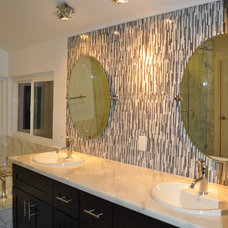 Contemporary Bathroom by Horizon Construction & Remodeling