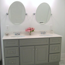 Traditional Bathroom by Ten June Designs