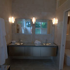 Canyon Pass At Dove Mountain Contemporary Bathroom Phoenix By Milestone Homes