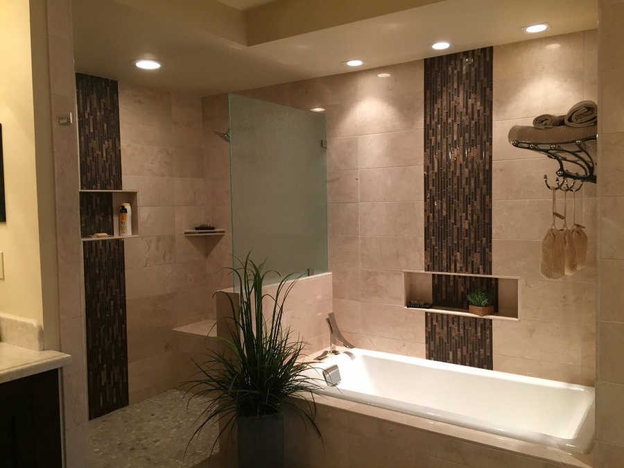 Master Bathroom in Rancho Palos Verdes