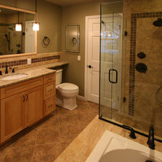 Traditional Bathroom by 21st Century Building Company