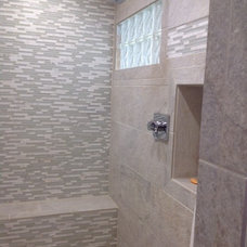 Contemporary Bathroom by Granite Center