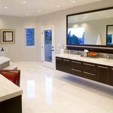 Modern Bathroom by Inhabit Design