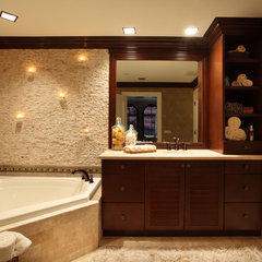 contemporary bathroom by Brown's Interior Design