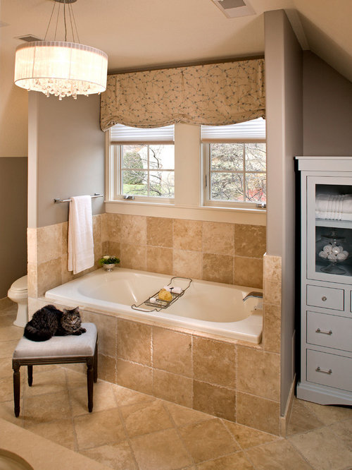 Tile Around Jacuzzi Tub Home Design Ideas Pictures