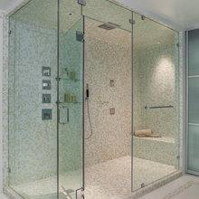 P/M master shower sauna