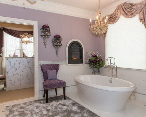 Sherwin williams chelsea mauve houzz Mauve bathroom