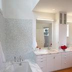 Contemporary Condo Renovation - Contemporary - Bathroom - Los Angeles - by Synthesis Inc.