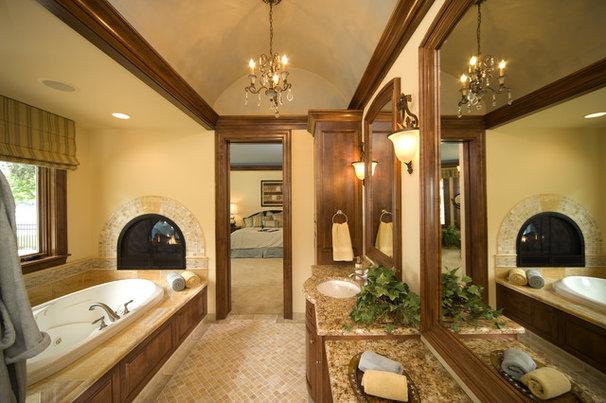 Beach Style Bathroom by John Kraemer & Sons