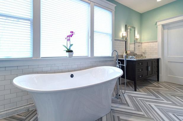 Nice Traditional Bathroom by Joni Spear Interior Design