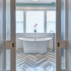 Contemporary Bathroom by Joni Spear Interior Design