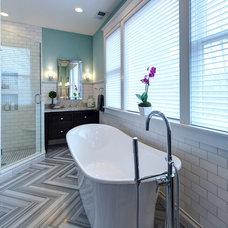 Traditional Bathroom by Joni Spear Interior Design