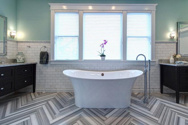 Contemporary Bathroom by Joni Spear Interior Design