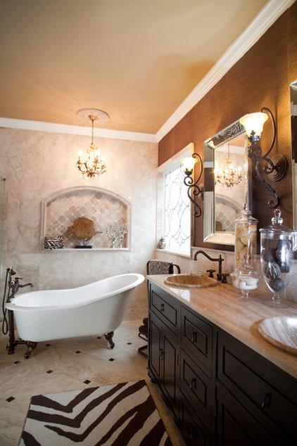 Traditional Bathroom by Karen Spiritoso Home Designs By Karen