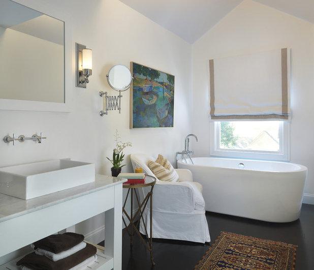 Beach Style Bathroom by Kate Jackson Design