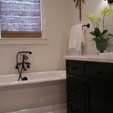 Traditional Bathroom by Kim Woods