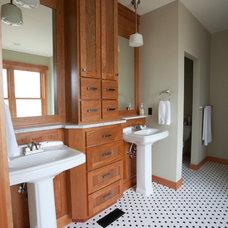 Traditional Bathroom by Kirk Alan Wood & Design LLC
