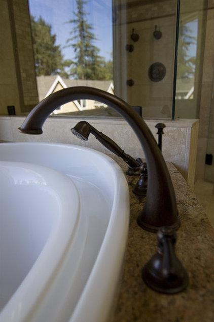 Mediterranean Bathroom by Kitchen & Bath Design Center
