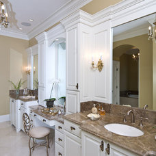 Traditional Bathroom by Kitchens Unlimited- Karen Kassen, CMKBD