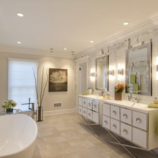 Contemporary Bathroom by Lasley Brahaney Architecture + Construction