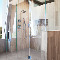 Contemporary Bathroom by Lauren Jacobsen Interior Design