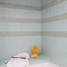 Contemporary Bathroom by lisa gutow design