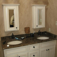 Contemporary Bathroom by Lux N Sons Restoration & Remodeling Specialists