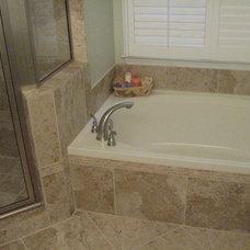 Contemporary Bathroom by Designing Home Inc.
