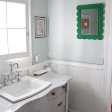 Farmhouse Bathroom by Lesli DeVito and My Old Country House