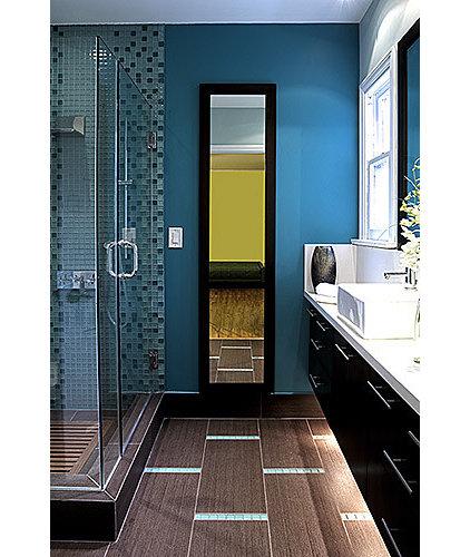 Contemporary Bathroom by Malgosia Migdal, ASID