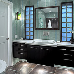 contemporary bathroom by Malgosia Migdal, ASID
