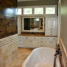 Traditional Bathroom by Mandy Lawrence Interior Design