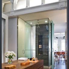 Modern Bathroom by Leone Design Studio